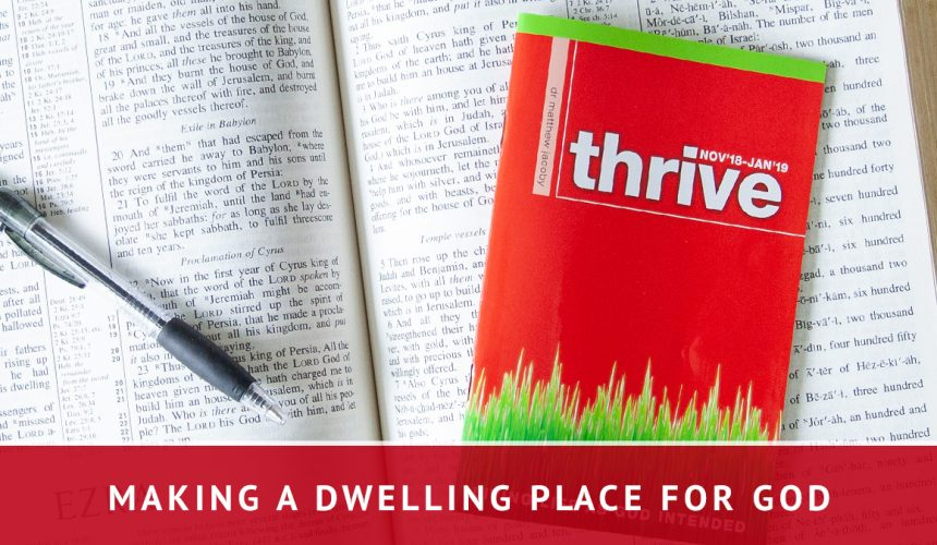 Making a Dwelling Place for God | Matthew Jacoby