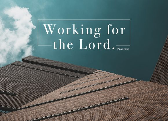 Working For The Lord | Jono Broadbent