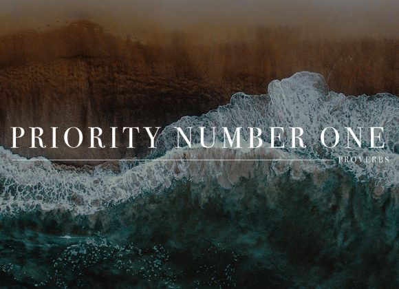 Priority Number One | Tim Edwards