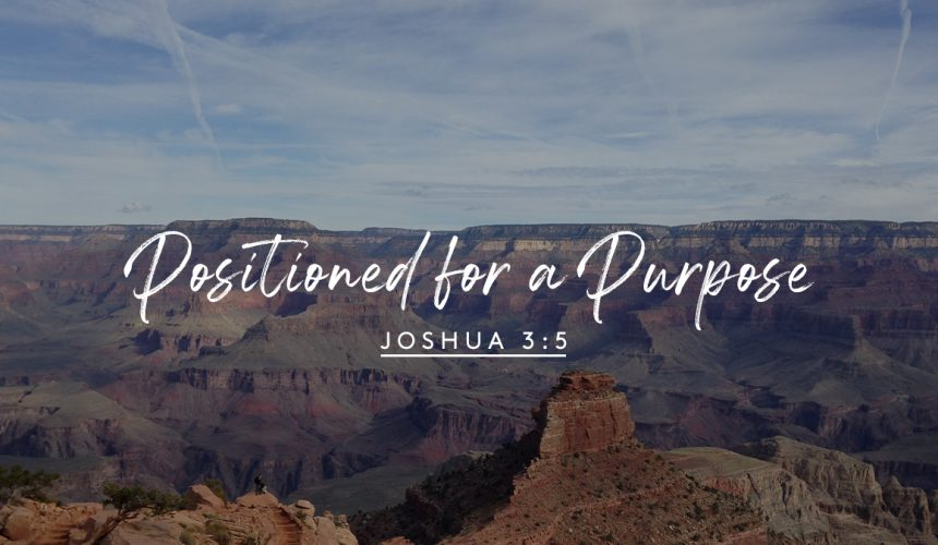 Positioned For A Purpose | Jeff Benson