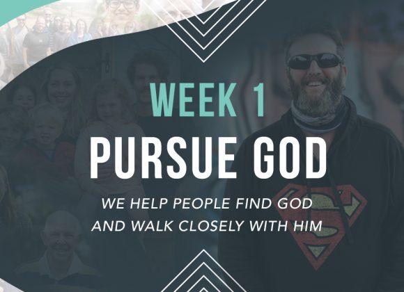 Value | Pursue God