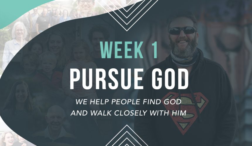Value   Pursue God